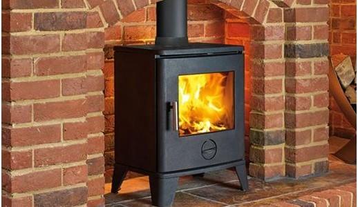 Wood Burning Stove - SCENE 490